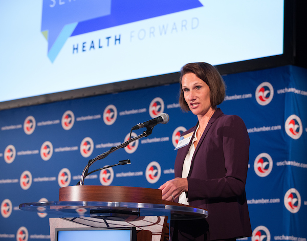 Katie Mahoney at the Health Forward Summit