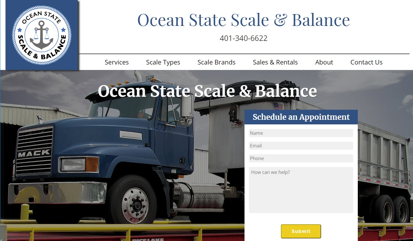 Ocean State Scale website